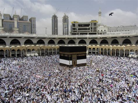 Incredible pictures from Mecca as 2,000,000 Muslims begin