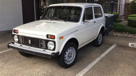 This amazing 1990 Lada Niva 4x4 is now in Dallas TX USA