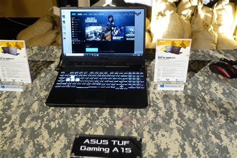 ASUS Announces A15/17 and F15/17 TUF Gaming Laptops