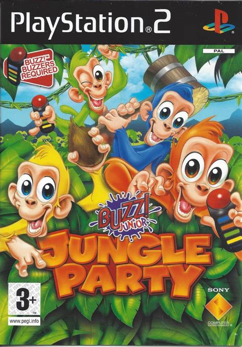 Buzz Junior Jungle Party for Playstation 2 PS2 - Passion