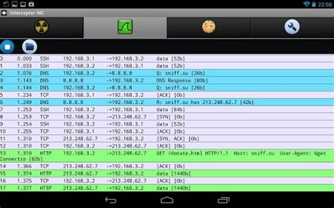 Intercepter-NG Android Sniffing App Tool - Just mobile phone