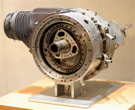 Wankel's first DKM54 engine now rests on display at the