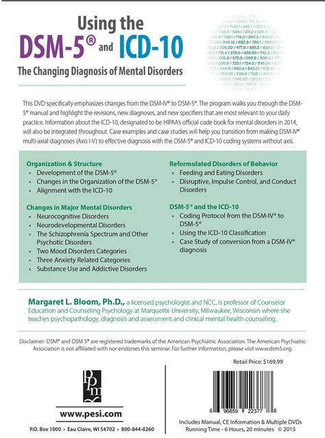 Difference between icd10 and dsm 5