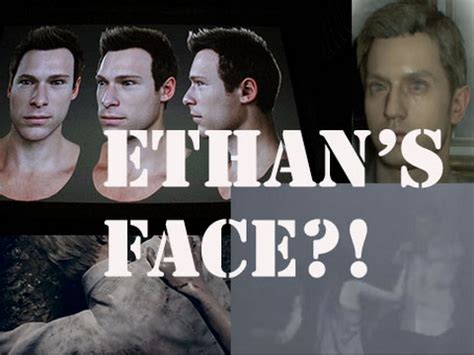 Ethan's face THEORY RE7 - YouTube