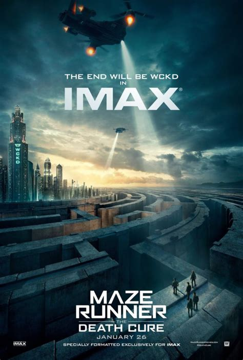 Maze Runner: The Death Cure gets two new posters