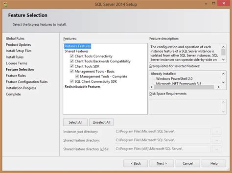 After installing SQL Server 2014 Express can't find local