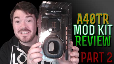 Is it Worth it? Part 2 | Astro A40 TR Mod Kit Review - YouTube