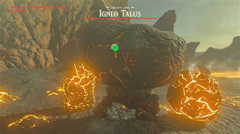BotW The Road to Respect / Igneo Talus(Darunia Lake) - YouTube