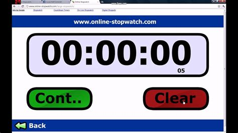 Online Stopwatch Fastest time in the world! - YouTube