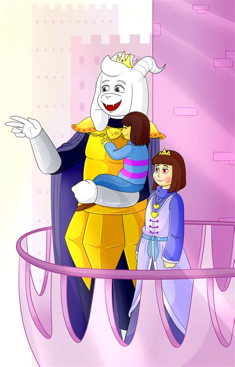 """Art and FanArt, Asriel: """"You see Frisk, everything that"""