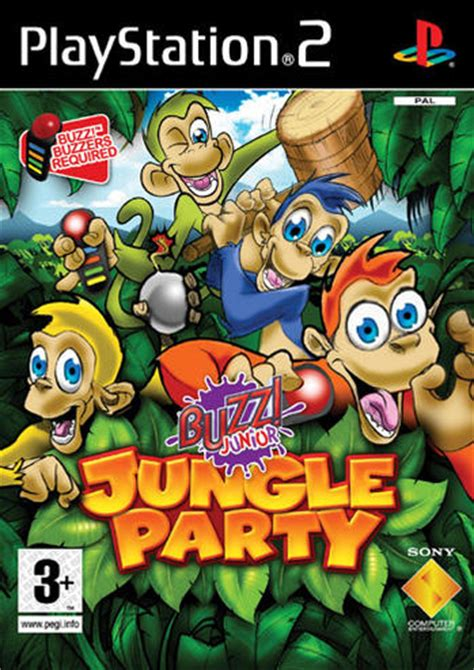 BUZZ Junior - Jungle Party (med Buzzers) Ps2 - PlayStation