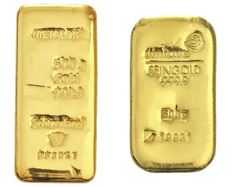 Sell 500g Gold Bars - Up to £22398