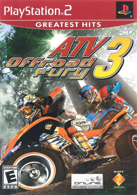 ATV Offroad Fury 3 for PlayStation 2 (2004) - MobyGames