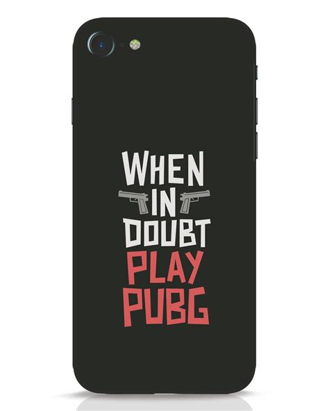 Buy Play Pubg iPhone 7 Mobile Case Online at ₹199