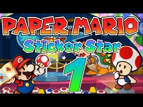 Let's Play Paper Mario Sticker Star Part 22: 3-5 & 3-3