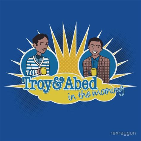 Troy and Abed in the Morning | Slim Fit T-Shirt | Day of