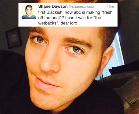 What does Shane Dawson think about ABC's racial diversity